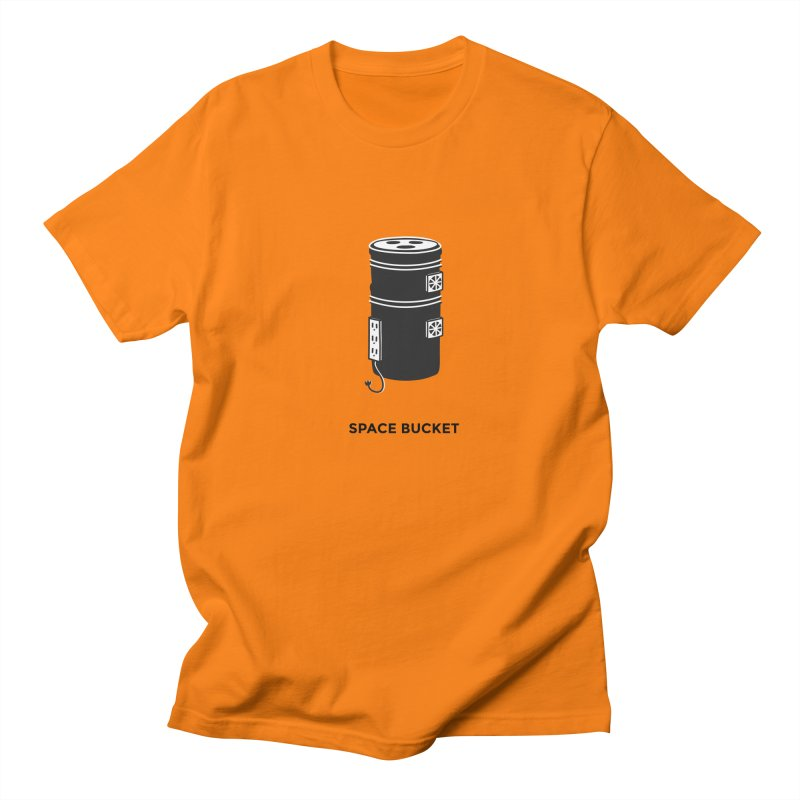 Space Bucket - Original sm Men's T-Shirt by spacebuckets's Artist Shop