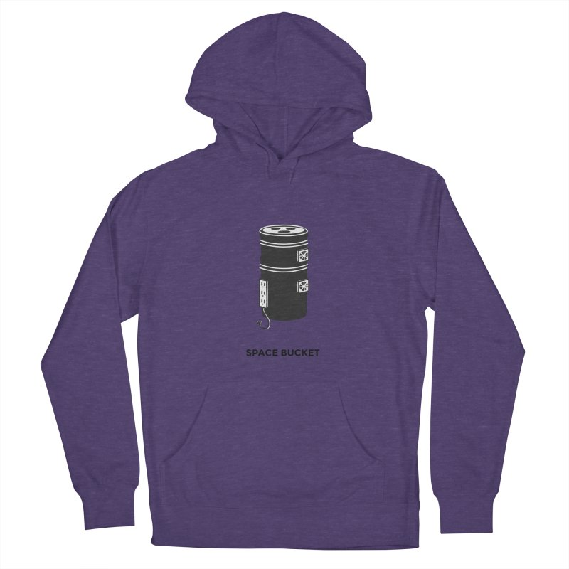 Space Bucket - Original sm Women's French Terry Pullover Hoody by spacebuckets's Artist Shop