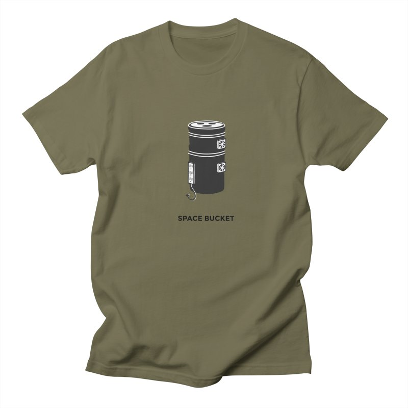 Space Bucket - Original sm Men's Regular T-Shirt by spacebuckets's Artist Shop