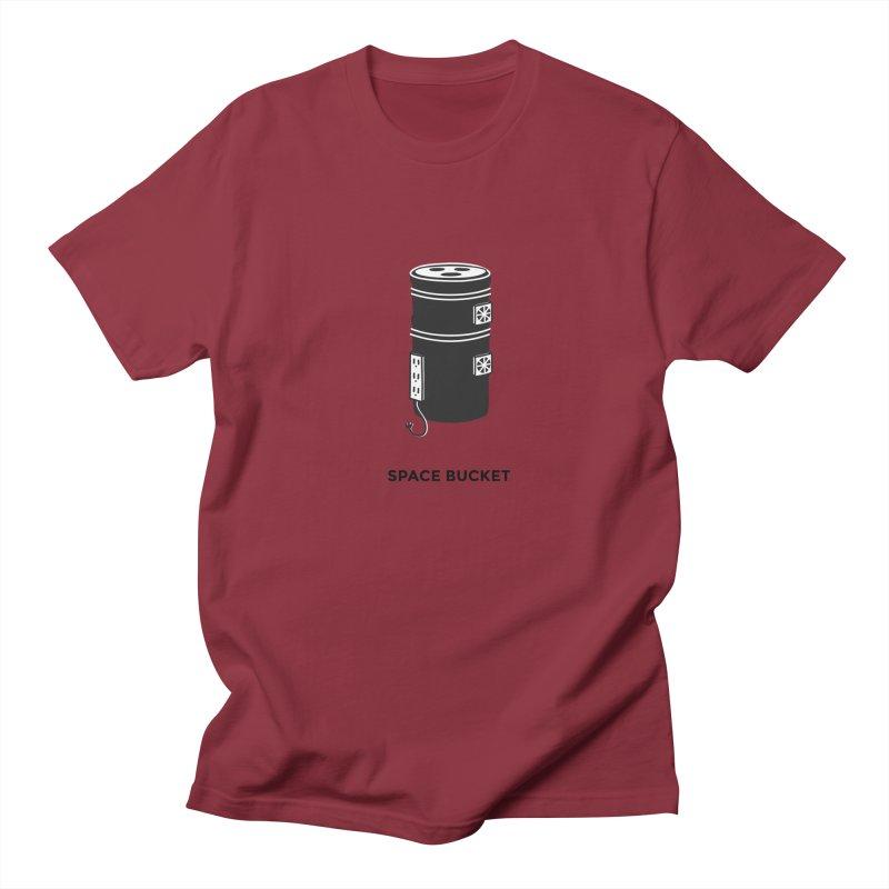 Space Bucket - Original sm Women's T-Shirt by spacebuckets's Artist Shop