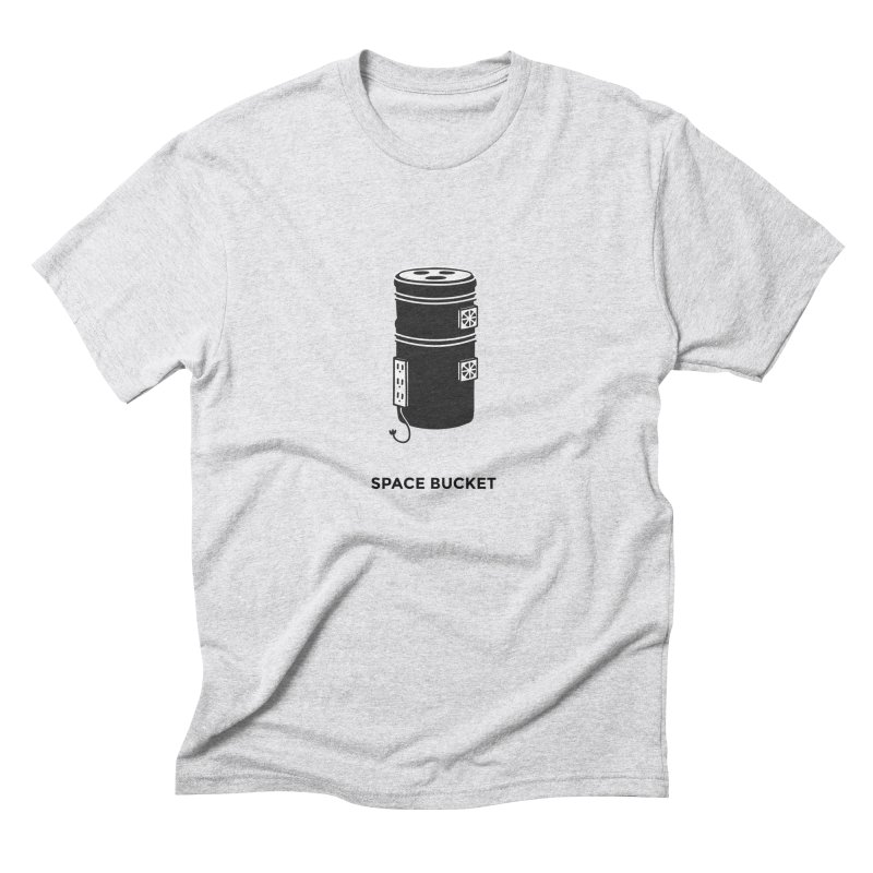 Space Bucket - Original sm Men's Triblend T-Shirt by spacebuckets's Artist Shop