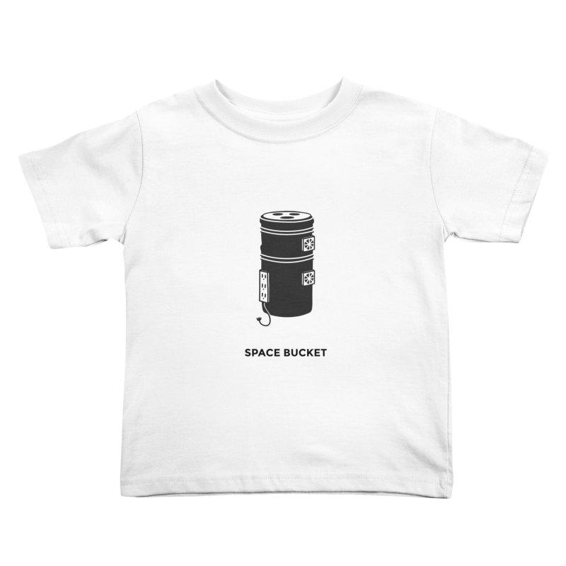 Space Bucket - Original sm Kids Toddler T-Shirt by spacebuckets's Artist Shop