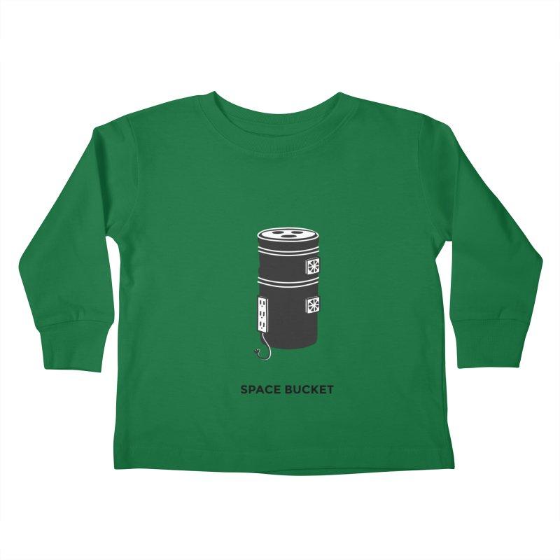 Space Bucket - Original sm Kids Toddler Longsleeve T-Shirt by spacebuckets's Artist Shop