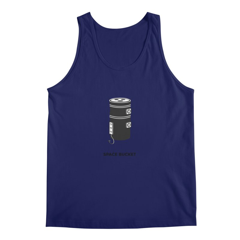 Space Bucket - Original sm Men's Tank by spacebuckets's Artist Shop