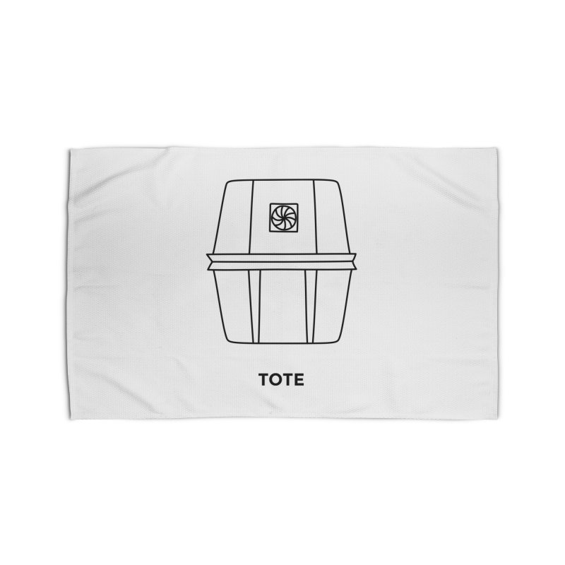 Space Bucket - Tote Home Rug by spacebuckets's Artist Shop