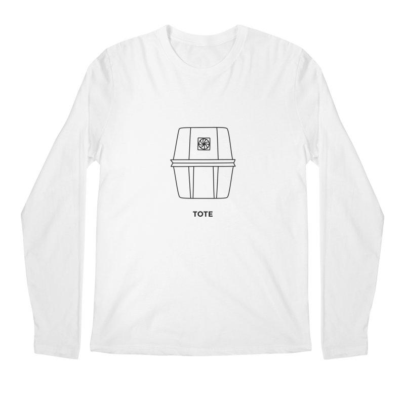 Space Bucket - Tote Men's Regular Longsleeve T-Shirt by spacebuckets's Artist Shop