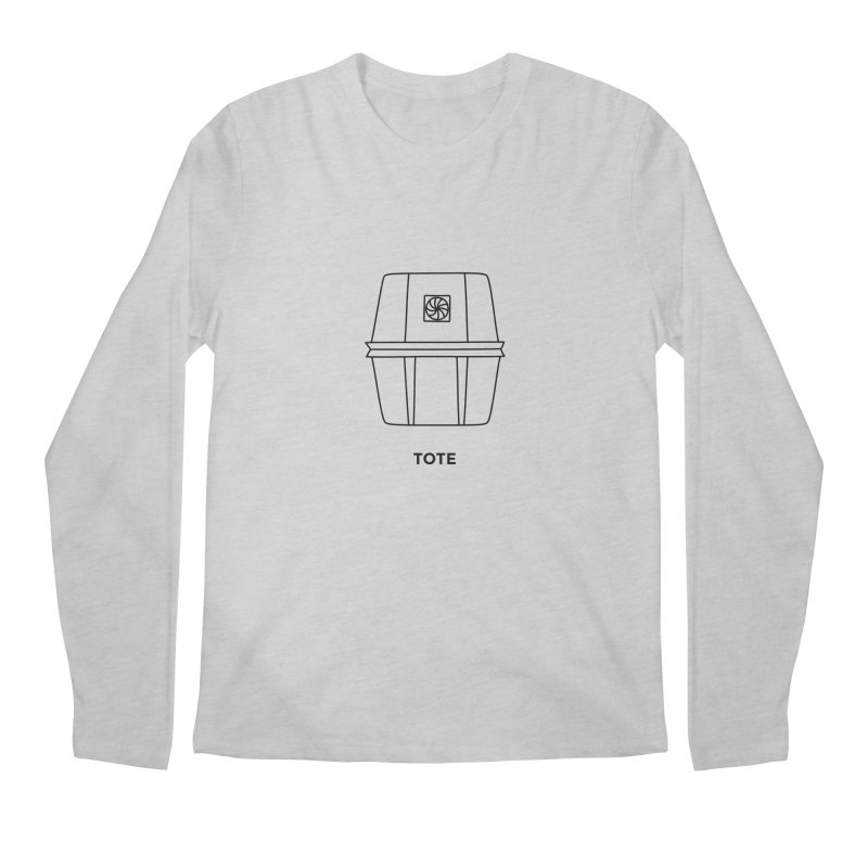 Space Bucket - Tote Men's Regular Longsleeve T-Shirt by spacebuckets's Artist Shop