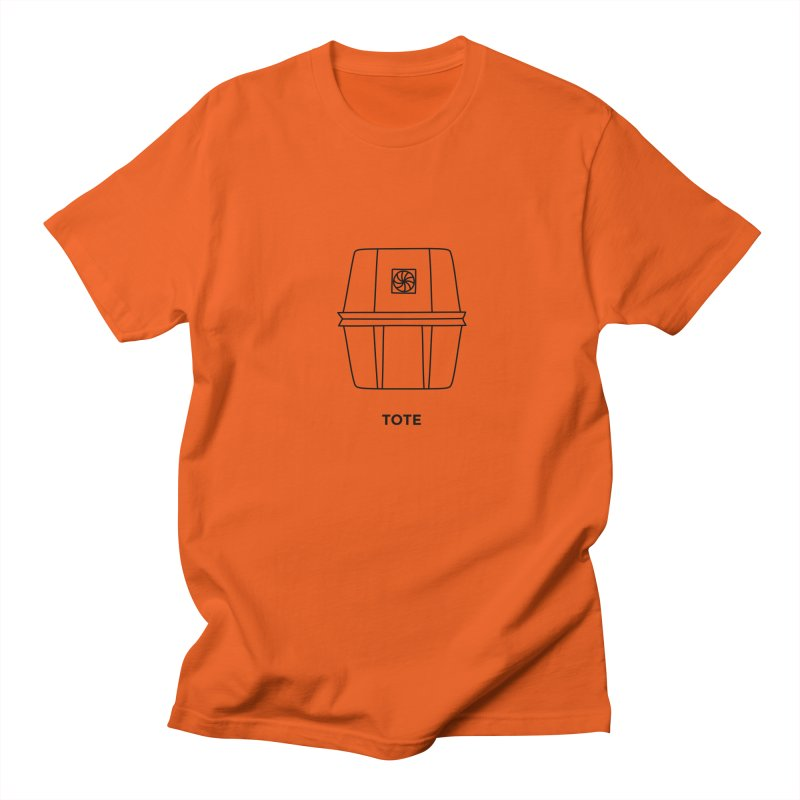 Space Bucket - Tote Men's T-Shirt by spacebuckets's Artist Shop
