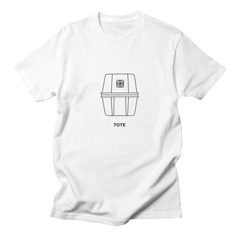 Space Bucket - Tote Women's Regular Unisex T-Shirt by spacebuckets's Artist Shop