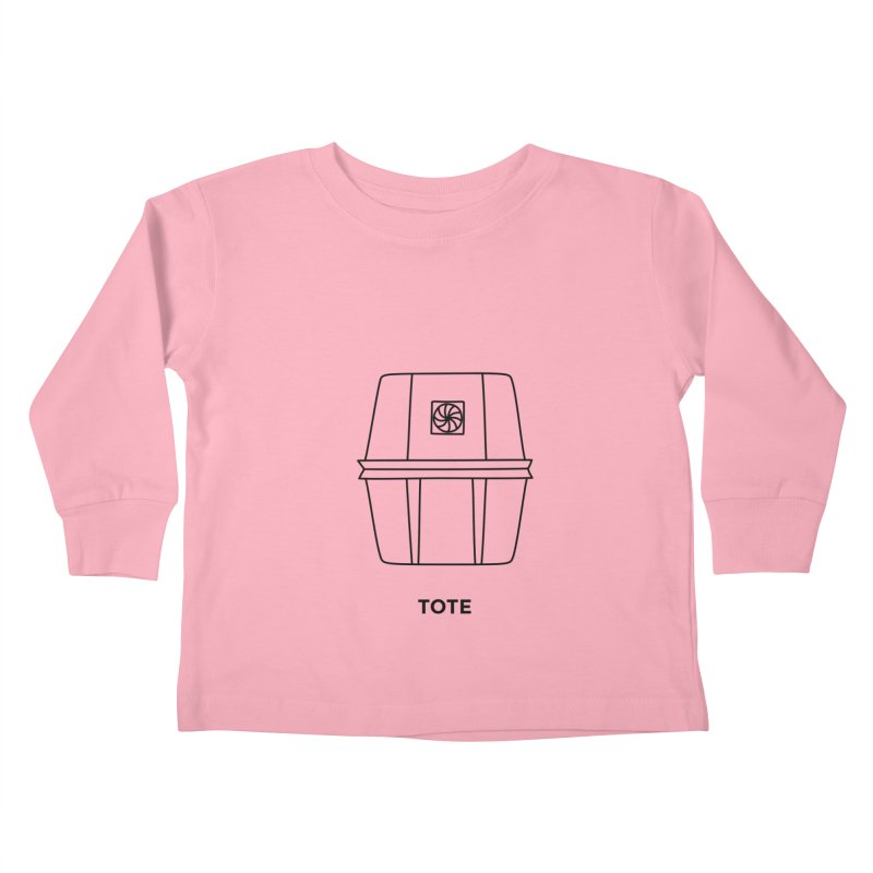 Space Bucket - Tote Kids Toddler Longsleeve T-Shirt by spacebuckets's Artist Shop