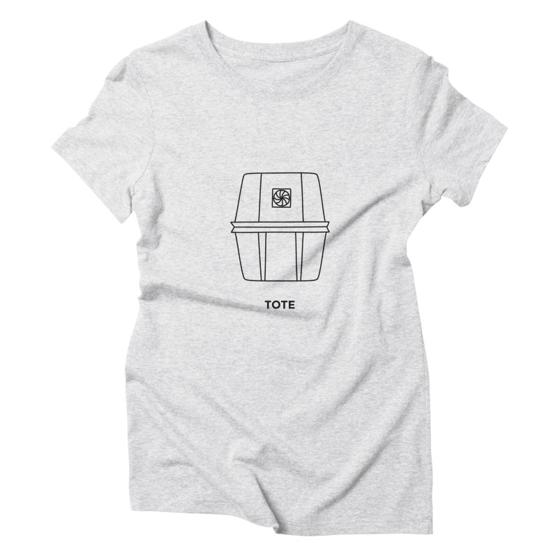 Space Bucket - Tote Women's T-Shirt by spacebuckets's Artist Shop