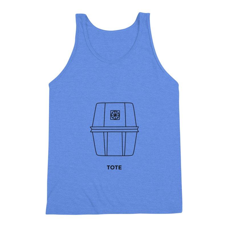 Space Bucket - Tote Men's Triblend Tank by spacebuckets's Artist Shop