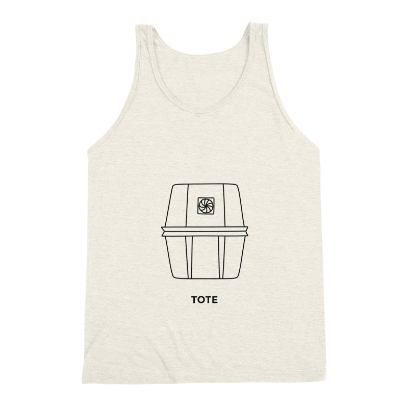 Space Bucket - Tote Men's Triblend Tank by spacebuckets's Artist Shop