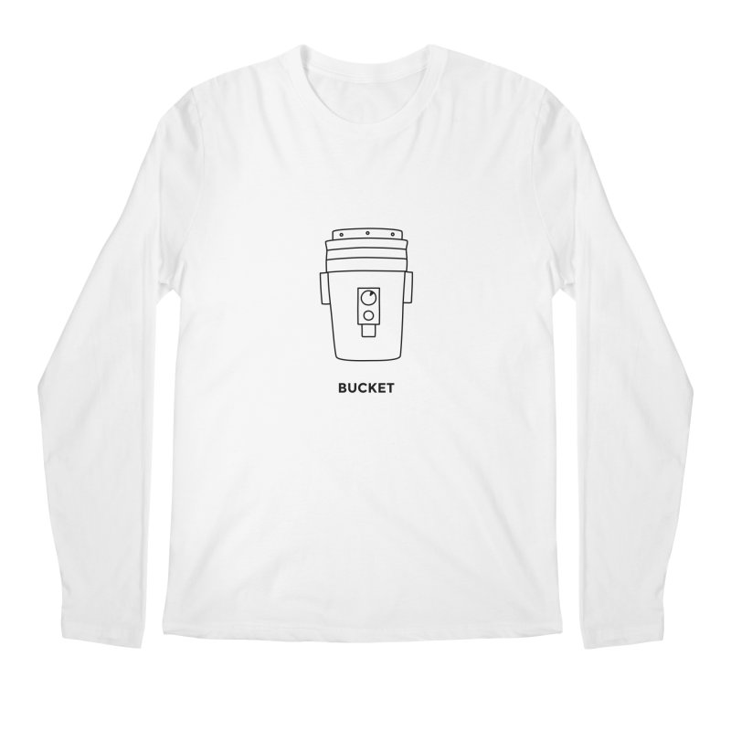 Space Bucket - 20 gal Bucket Men's Regular Longsleeve T-Shirt by spacebuckets's Artist Shop