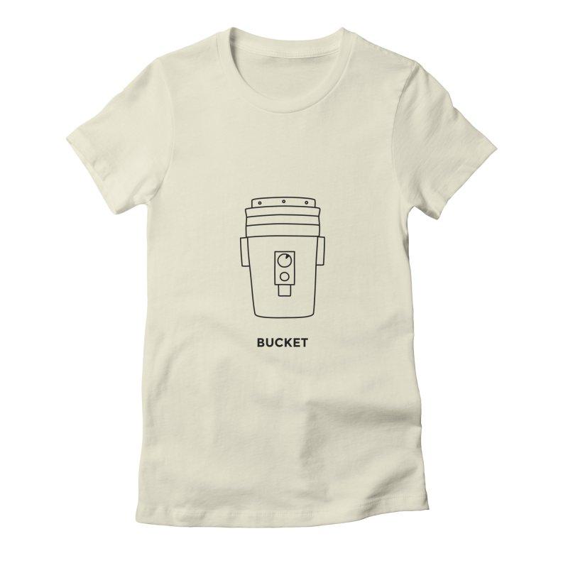 Space Bucket - 20 gal Bucket Women's T-Shirt by spacebuckets's Artist Shop