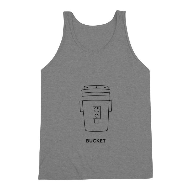 Space Bucket - 20 gal Bucket Men's Triblend Tank by spacebuckets's Artist Shop