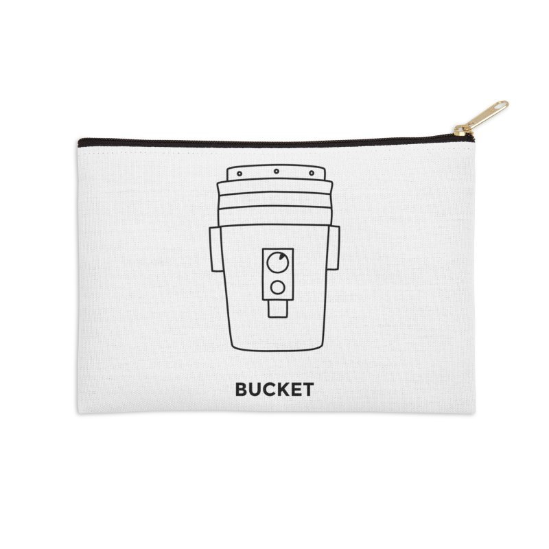 Space Bucket - 20 gal Bucket Accessories Zip Pouch by spacebuckets's Artist Shop