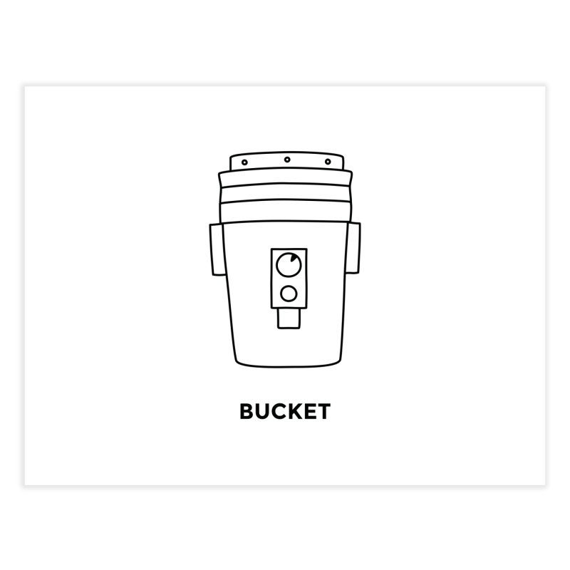Space Bucket - 20 gal Bucket   by spacebuckets's Artist Shop