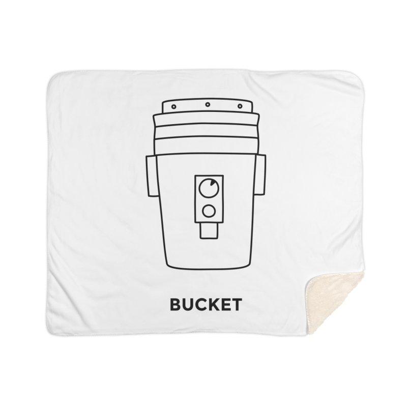 Space Bucket - 20 gal Bucket Home Blanket by spacebuckets's Artist Shop