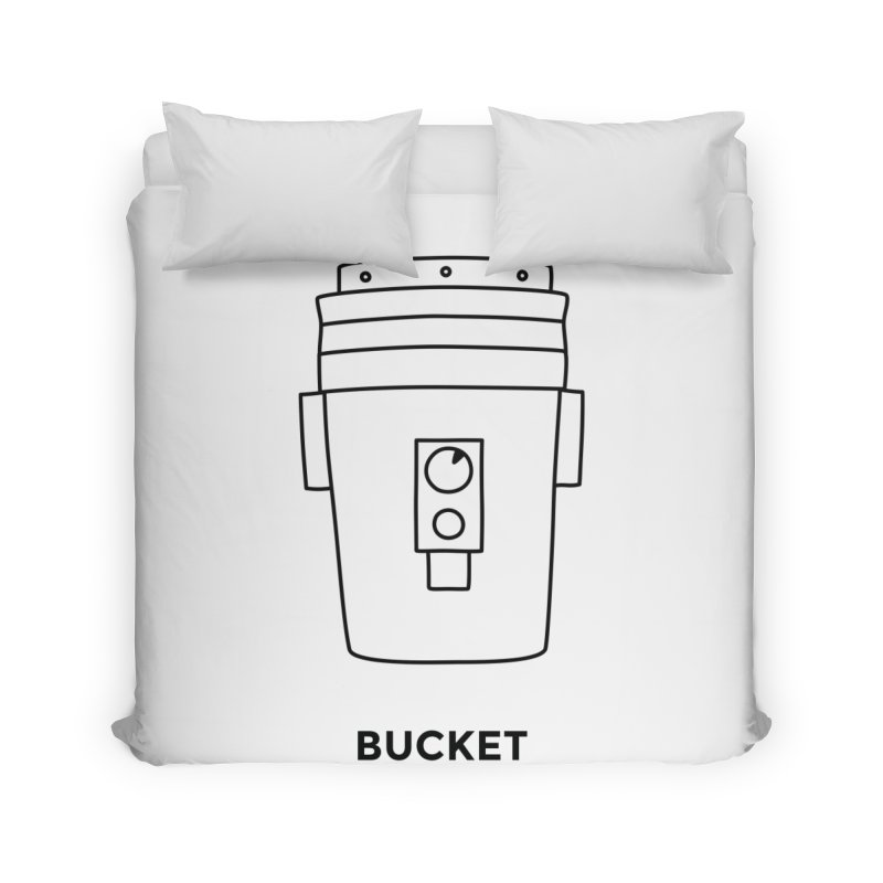 Space Bucket - 20 gal Bucket Home Duvet by spacebuckets's Artist Shop