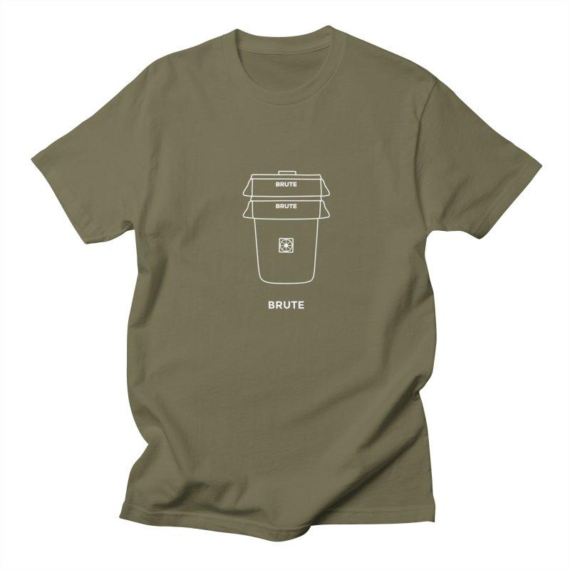 Brute Space Bucket - white Women's Regular Unisex T-Shirt by spacebuckets's Artist Shop