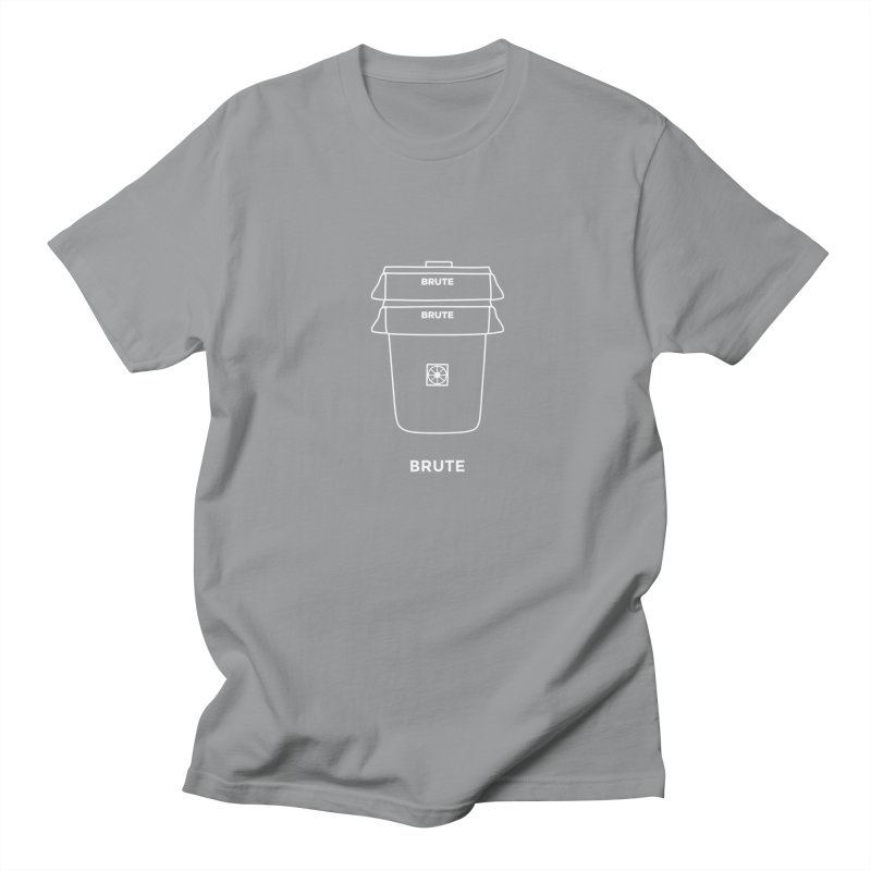 Brute Space Bucket - white Women's Regular Unisex T-Shirt by spacebuckets's Artist Shop
