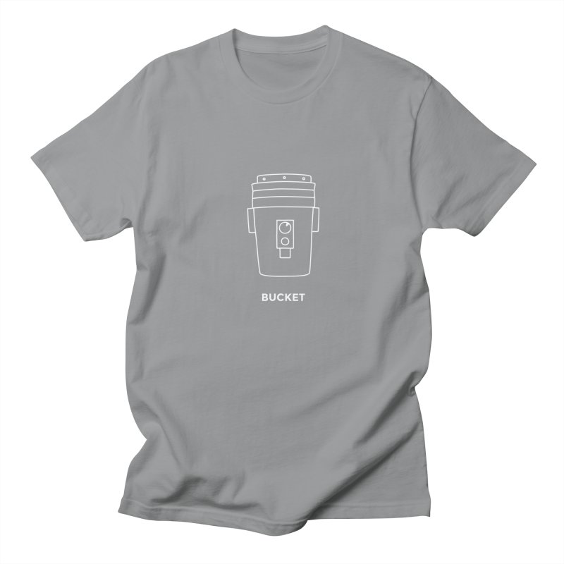 Space Bucket - 20gal Bucket white Men's T-Shirt by spacebuckets's Artist Shop