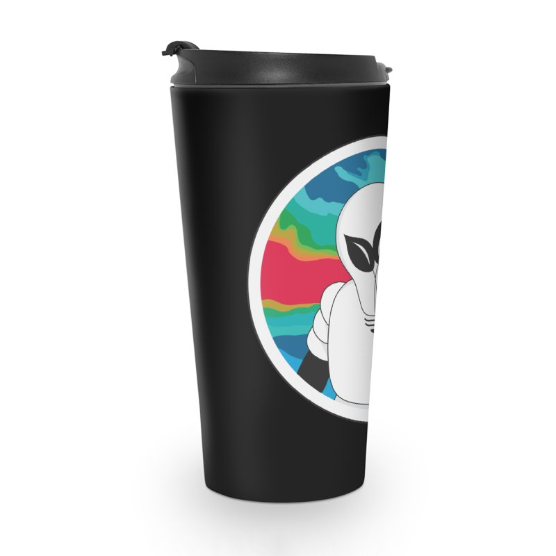 Space Buckets - Simple Logo Accessories Travel Mug by spacebuckets's Artist Shop