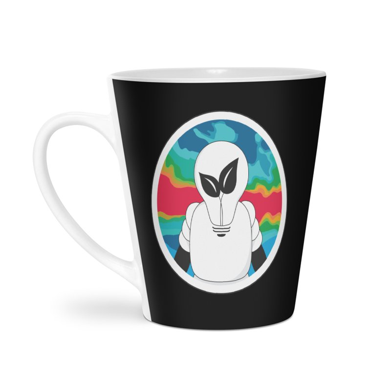 Space Buckets - Simple Logo Accessories Latte Mug by spacebuckets's Artist Shop