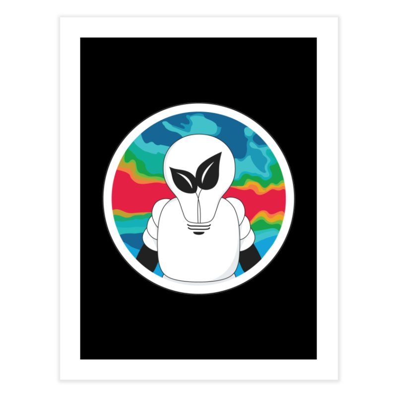 Space Buckets - Simple Logo Home Fine Art Print by spacebuckets's Artist Shop