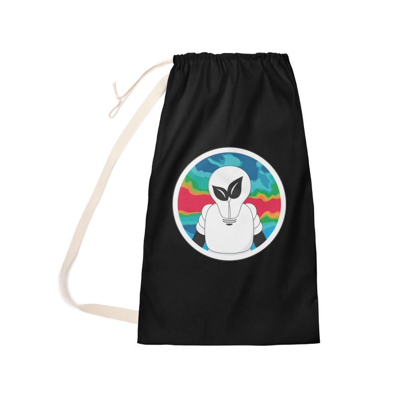 Space Buckets - Simple Logo Accessories Bag by spacebuckets's Artist Shop