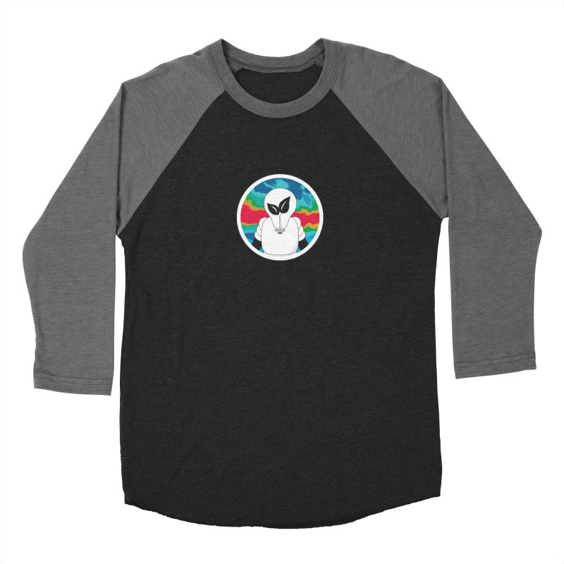 Space Buckets - Simple Logo Women's Baseball Triblend Longsleeve T-Shirt by spacebuckets's Artist Shop