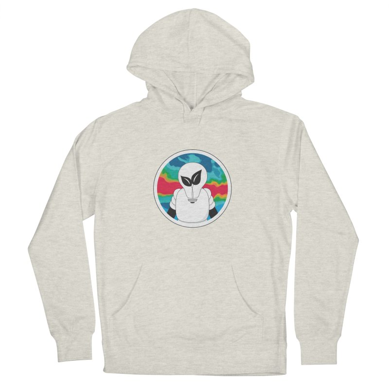 Space Buckets - Simple Logo Women's French Terry Pullover Hoody by spacebuckets's Artist Shop