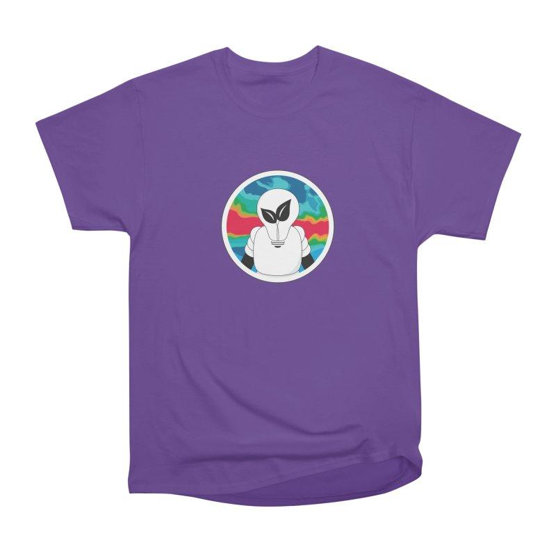 Space Buckets - Simple Logo Women's Heavyweight Unisex T-Shirt by spacebuckets's Artist Shop
