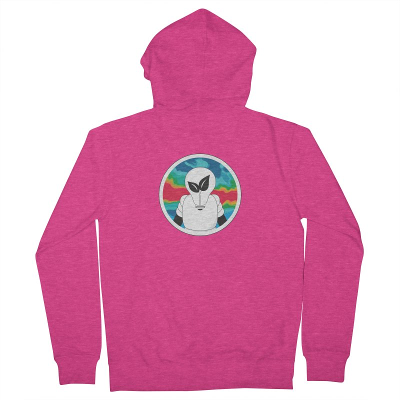Space Buckets - Simple Logo Women's French Terry Zip-Up Hoody by spacebuckets's Artist Shop