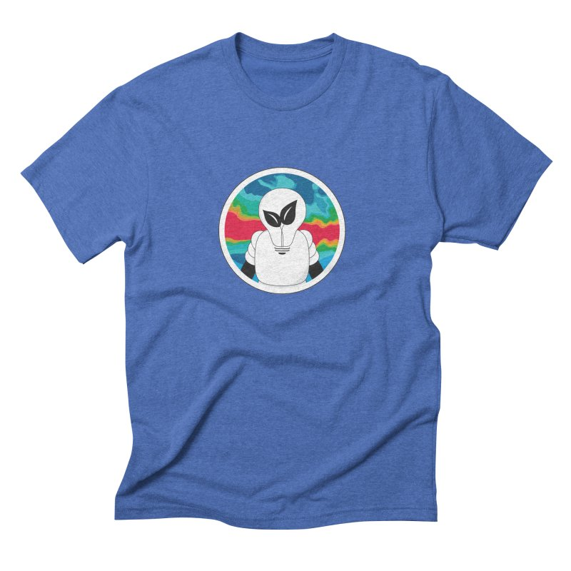 Space Buckets - Simple Logo Men's Triblend T-Shirt by spacebuckets's Artist Shop
