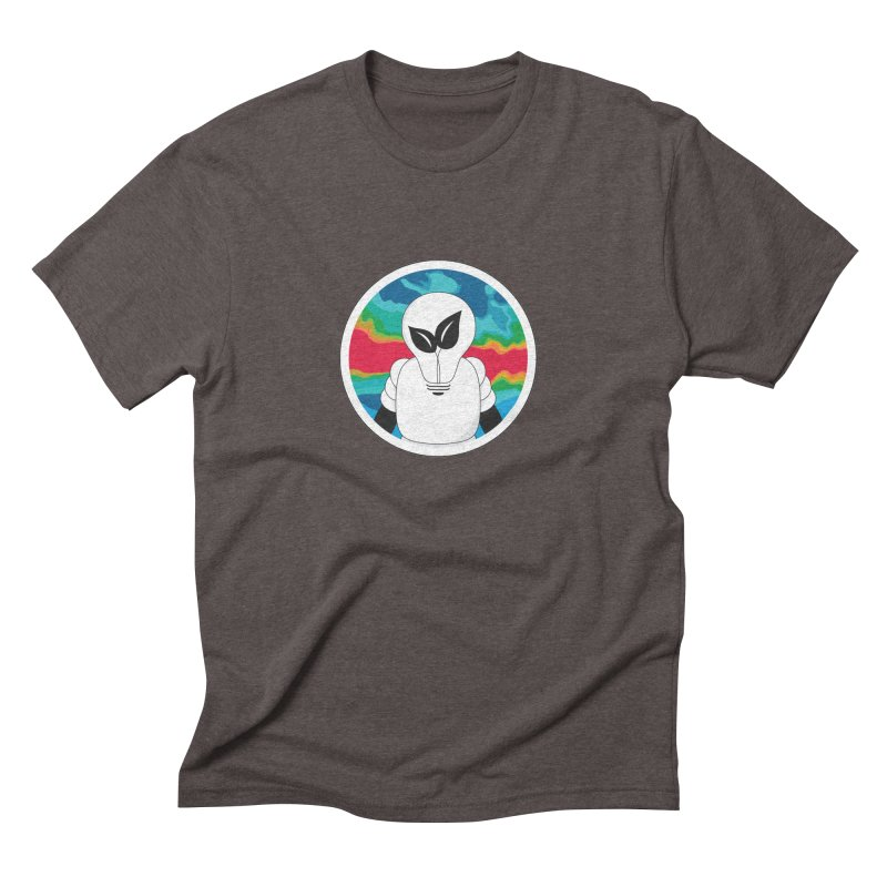 Space Buckets - Simple Logo Men's Triblend T-Shirt by spacebuckets's Artist Shop