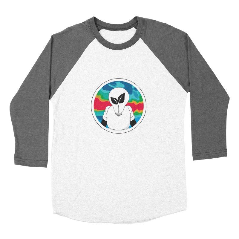 Space Buckets - Simple Logo Women's Baseball Triblend Longsleeve T-Shirt by spacebuckets's Artist Shop