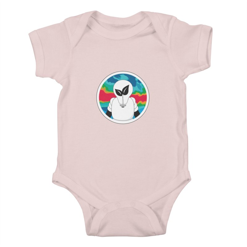 Space Buckets - Simple Logo Kids Baby Bodysuit by spacebuckets's Artist Shop