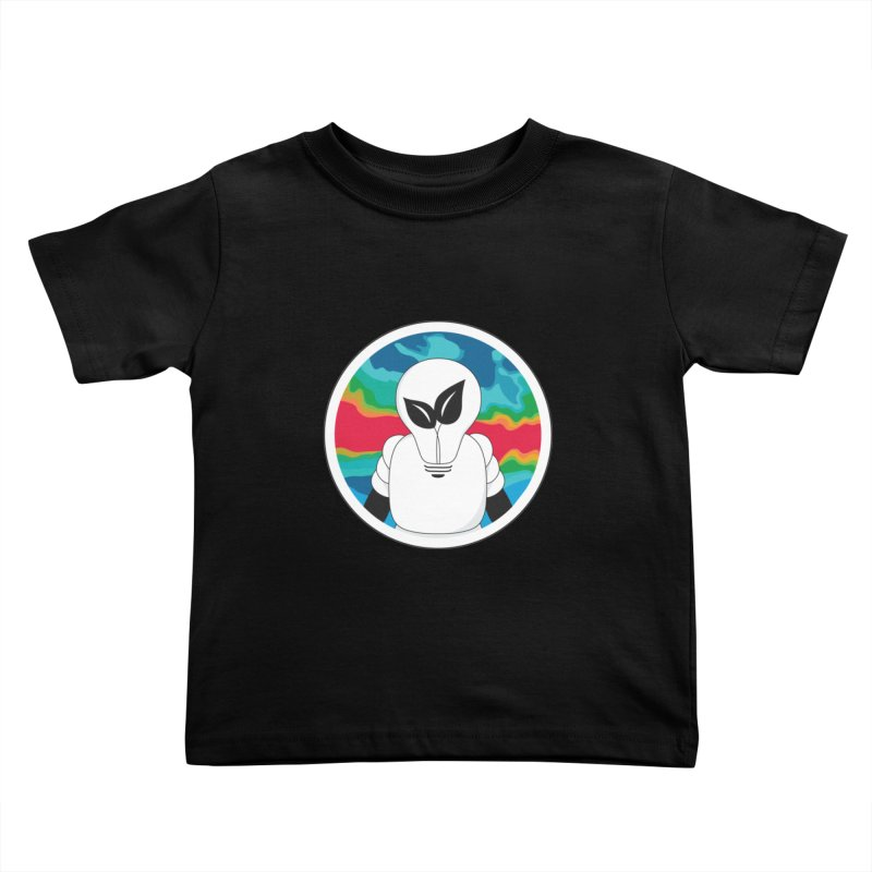 Space Buckets - Simple Logo Kids Toddler T-Shirt by spacebuckets's Artist Shop
