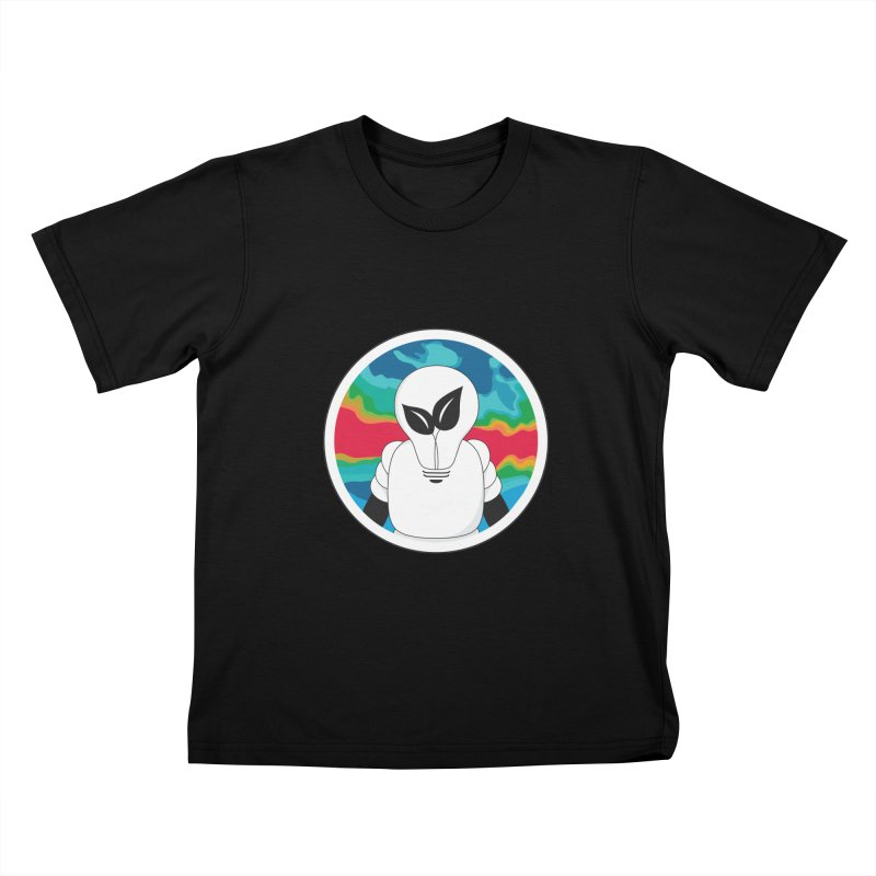 Space Buckets - Simple Logo Kids T-Shirt by spacebuckets's Artist Shop