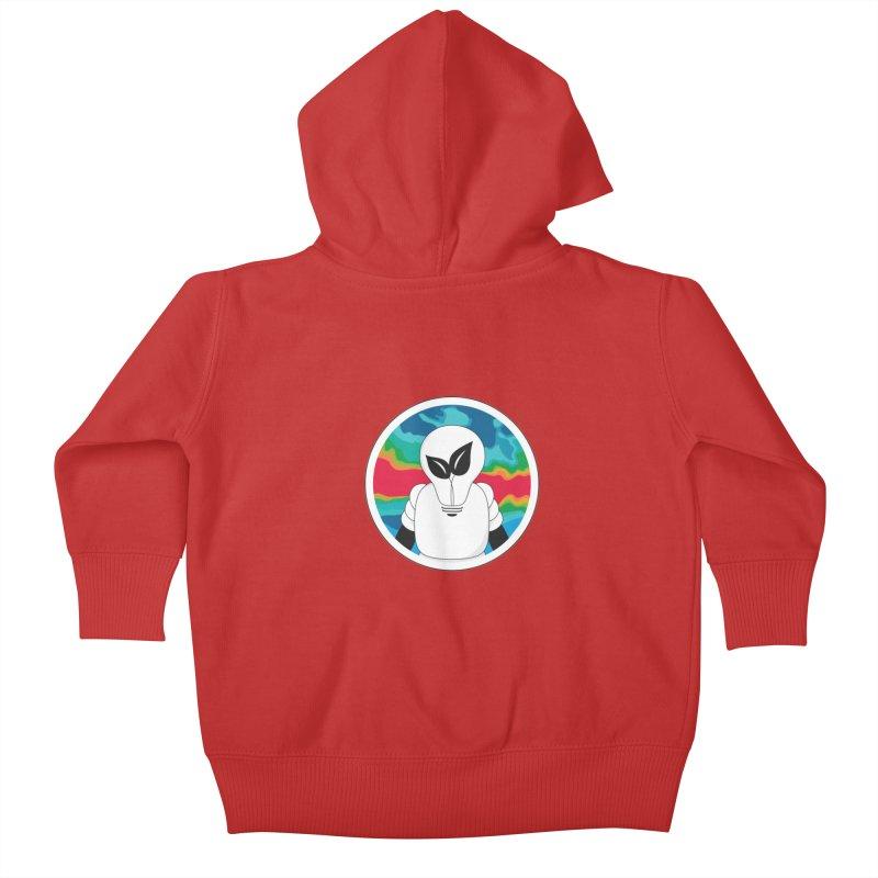 Space Buckets - Simple Logo Kids Baby Zip-Up Hoody by spacebuckets's Artist Shop