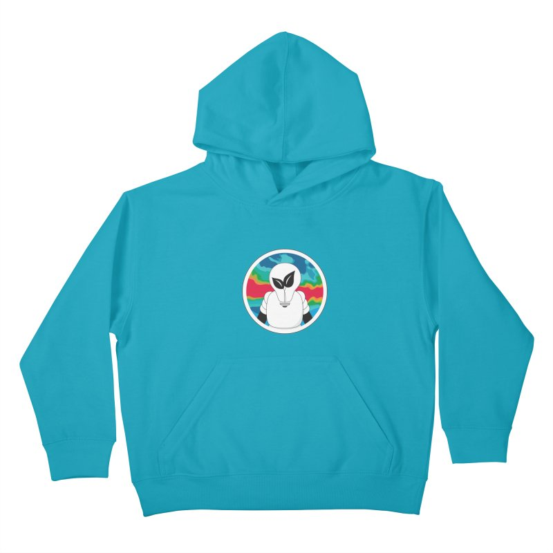 Space Buckets - Simple Logo Kids Pullover Hoody by spacebuckets's Artist Shop