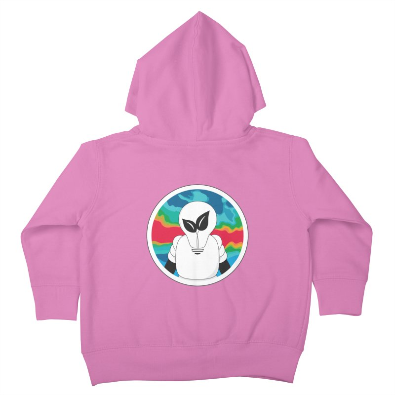 Space Buckets - Simple Logo Kids Toddler Zip-Up Hoody by spacebuckets's Artist Shop