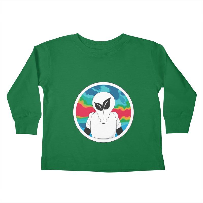 Space Buckets - Simple Logo Kids Toddler Longsleeve T-Shirt by spacebuckets's Artist Shop