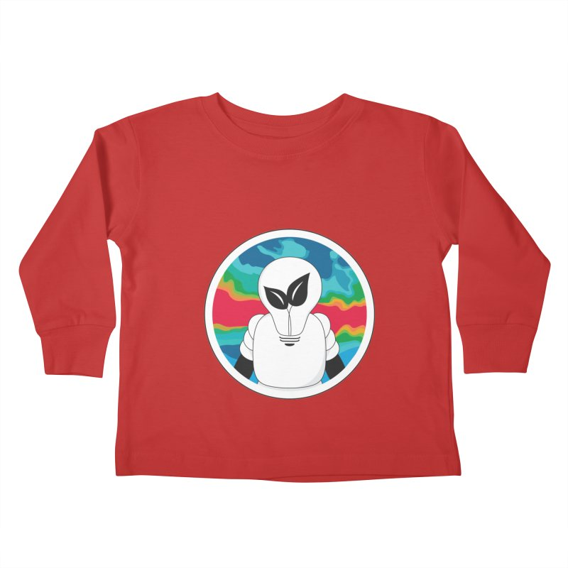 Space Buckets - Simple Logo Kids Toddler Longsleeve T-Shirt by spacebuckets's Artist Shop