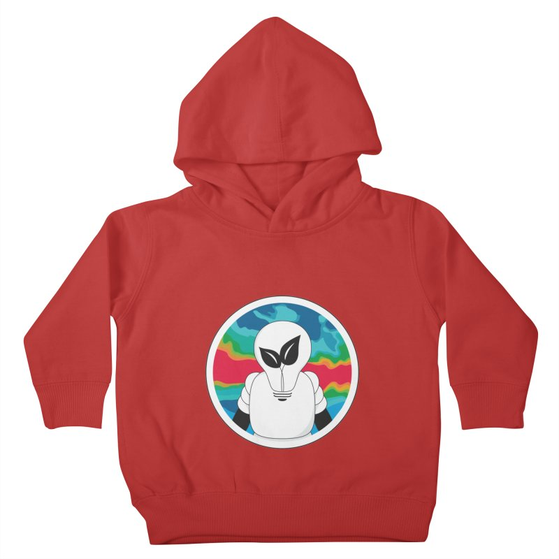 Space Buckets - Simple Logo Kids Toddler Pullover Hoody by spacebuckets's Artist Shop