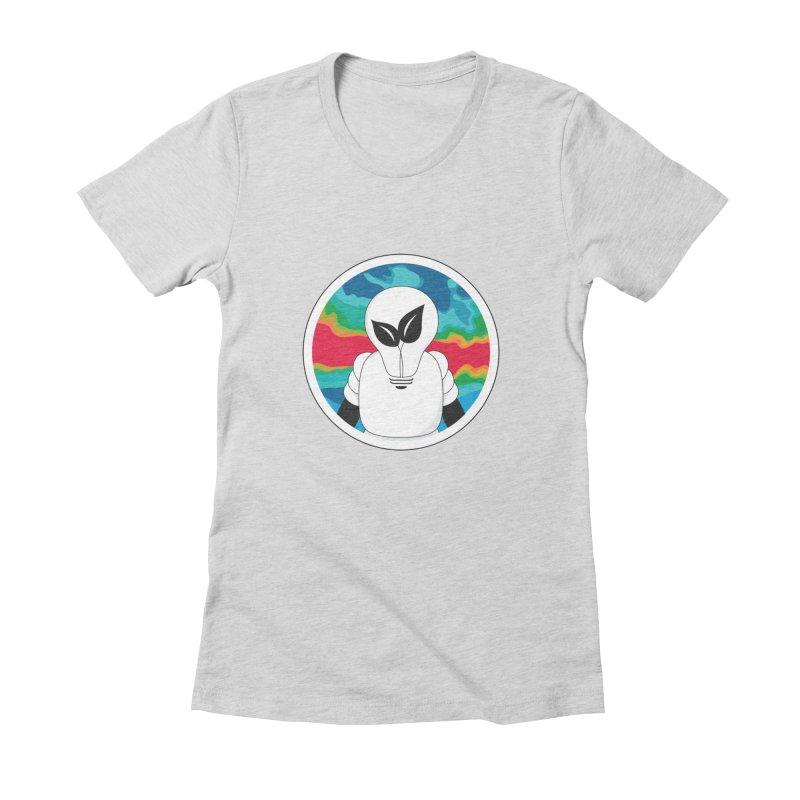 Space Buckets - Simple Logo Women's T-Shirt by spacebuckets's Artist Shop