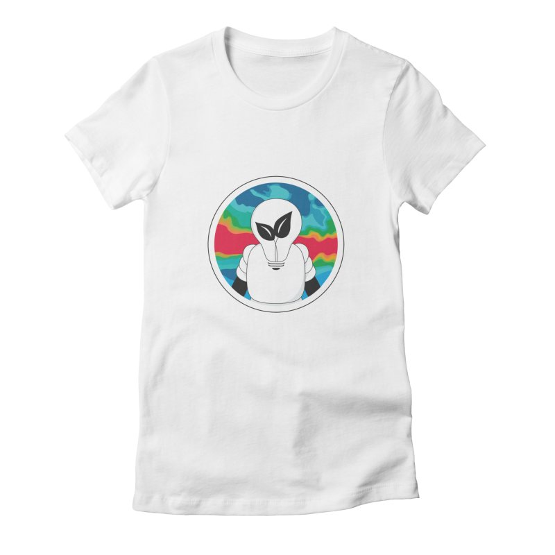 Space Buckets - Simple Logo Women's T-Shirt by spacebuckets's Artist Shop