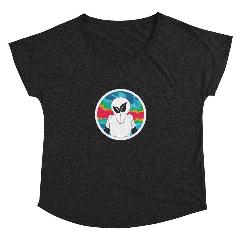 Space Buckets - Simple Logo Women's Dolman Scoop Neck by spacebuckets's Artist Shop